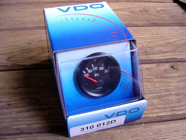 vdo temp gauge