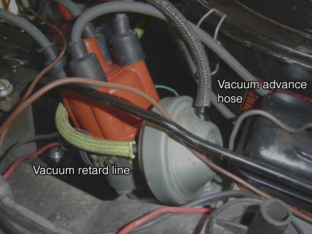 Dual Carb Vacuum Hoses